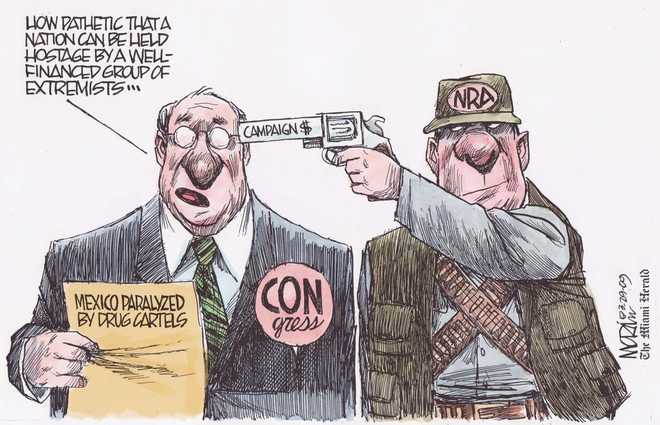 nra mexico and bush