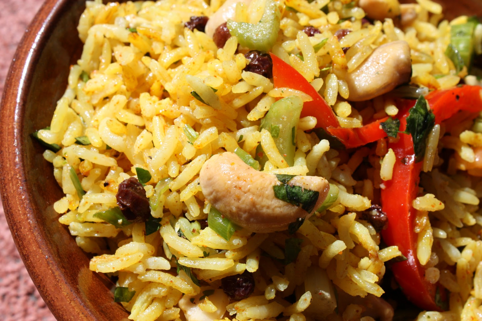Nutrition as Nature Intended: Curried Rice Salad