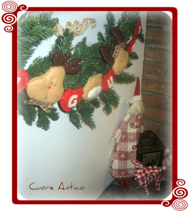 Cuore Antico: Ghirlanda di Natale