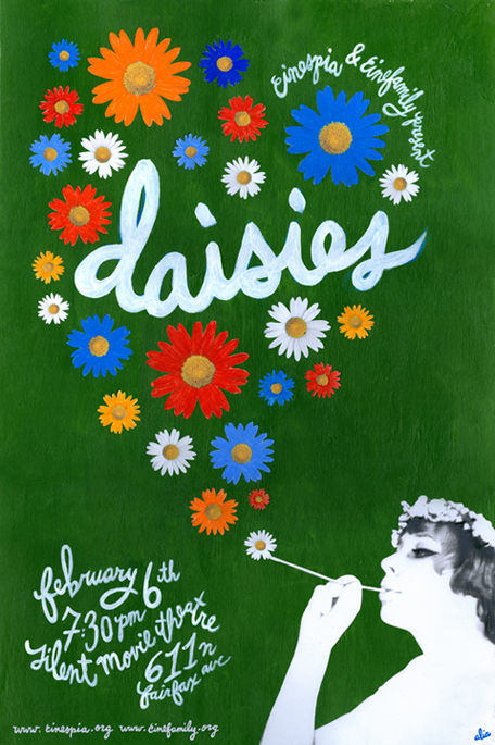 daisies 1966 Daisies (1966) trailer two teenage girls, both named marie, decide that since the world is spoiled they will be spoiled as well accordingly they embark on a series of destructive pranks in.