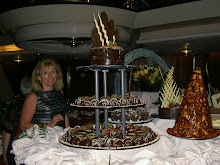 A Sea of Chocoate - midnight buffet on Empress of the Seas