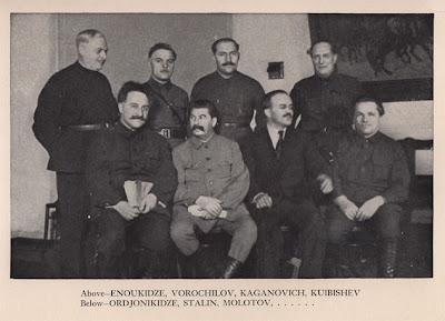 Stalin y el Partido Comunista Ruso hoy, por G.A.Ziuganov Politbur%C3%B3+de+1933