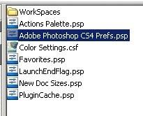 how to delete photoshop preferences
