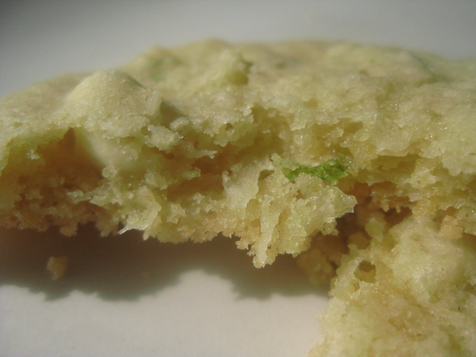 Andrea The Kitchen Witch: Key Lime cookies with white chocolate