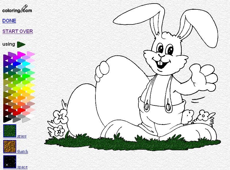 Dibujos Infantiles Para Colorear Y Pintar Online Gratis ...
