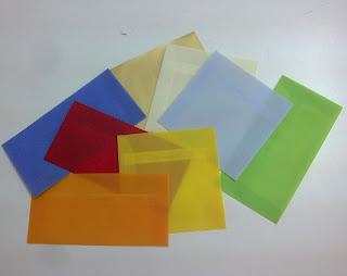 sobres papel vegetal