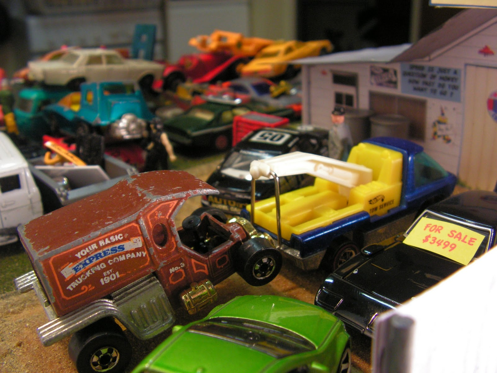 Dropping Into The Diecast Wreckers For Some Parts Redline Derby