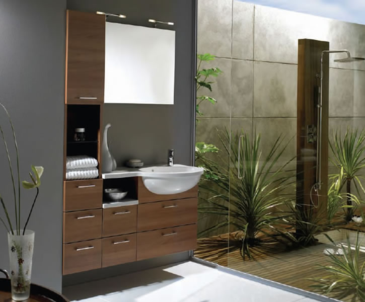 Sneak peek how to spa up your bathroom for Exclusive bathroom designs