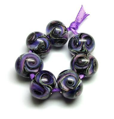 Lampwork Galaxy Beads