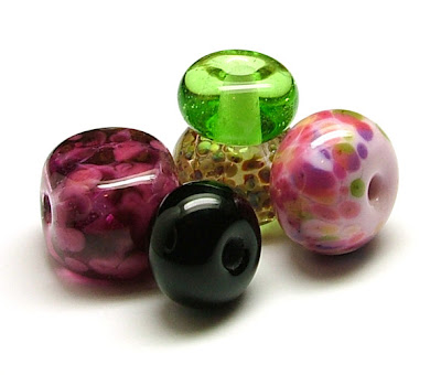 Kathy's First Lampwork Beads