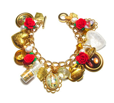 'Alice In Wonderland' Bracelet by Janine Byrom