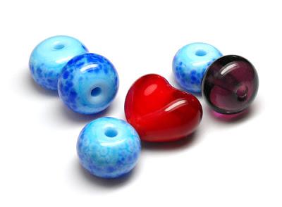 Caroline Whlean's Lampwork Beads