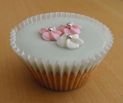 Fondant Iced Cupcake