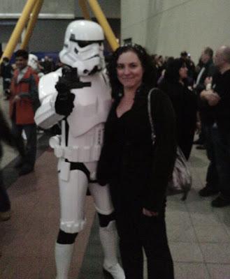 Me & A Stormtrooper