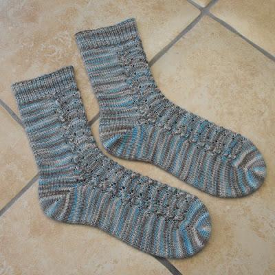 Handmade Rivulets Socks
