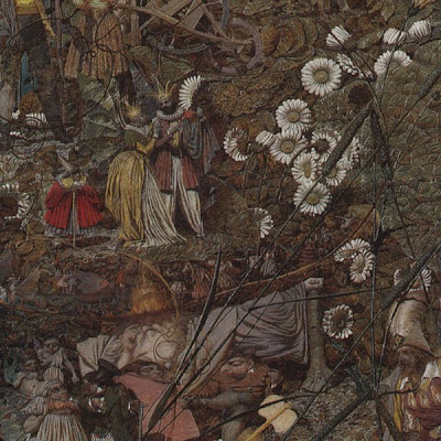 Detail of Richard Dadd's 'The Fairy Feller's Master-Stroke'