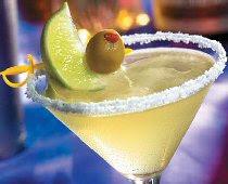 Margarita - Tequila Prata, contreau e suco de limão
