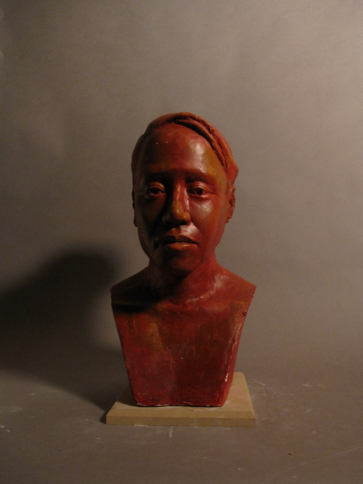 Shawn's art: Classical Figurative Sculpture -- Portrait