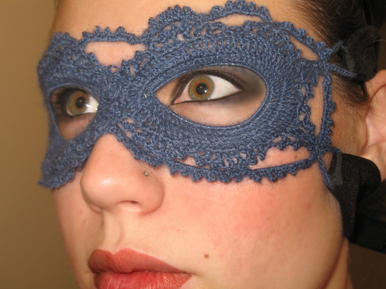 Craft Disasters And Other Atrocities Crochet Lace Mask