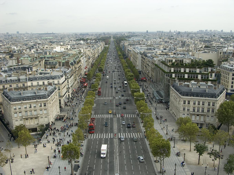 Dicas de paris o blog da paris em foco champs elys es muito mais do que - H m avenue des champs elysees ...