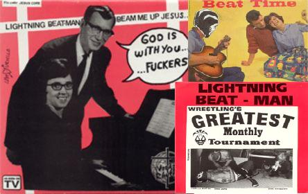 Lightning Beat-Man And The Never Heard Of 'Ems - Apartment Wrestling Rock And Roll