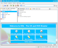 CD/DVD Kreator of KDE