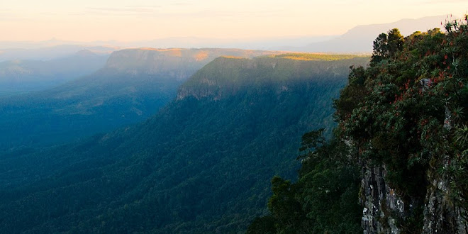 Sunset at God's Window, Blyde River Canyon, Drakensberg, South Africa © Matt Prater