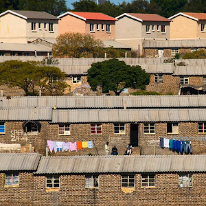 Housing in Soweto, Johannesburg, South Africa © Matt Prater