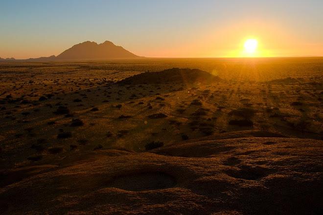 Sunset, Spitzkoppe, Namibia © Matt Prater