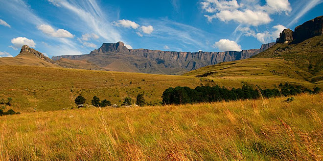 The Drakensberg Amphitheatre in Royal Natal National Park, South Africa © Matt Prater