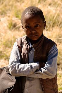 Male student in Malealea, Lesotho © Matt Prater