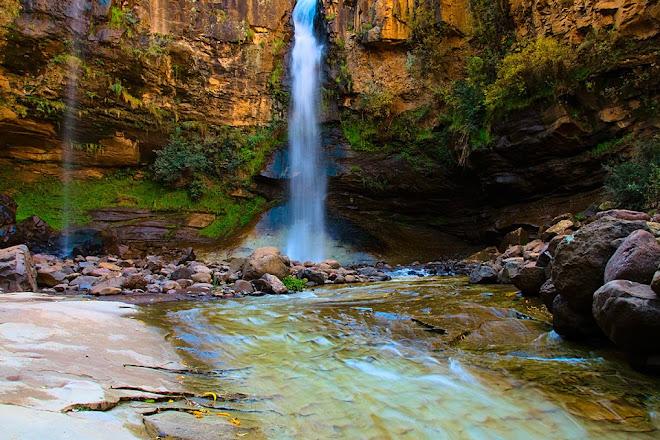 Waterfall near Malealea, Lesotho © Matt Prater