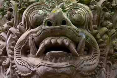 Stone statue, Ubud, Bali, Indonesia © Matt Prater