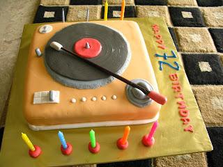 Turntable Birthday Cake Ideas