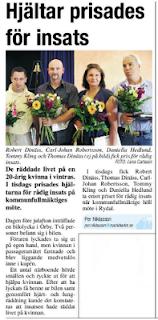 Artikel i Markbladet