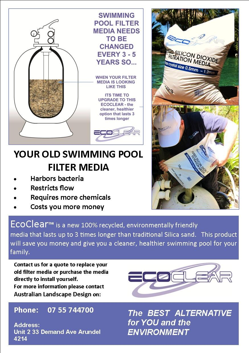 EcoClear Recycled Glass Filter Media