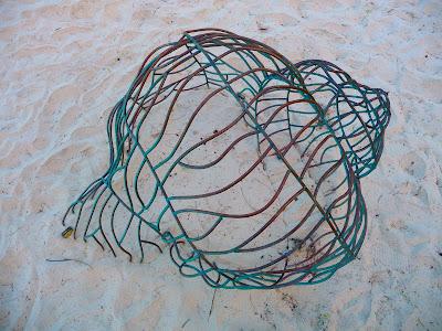 photo of art on the beach in Currumbin