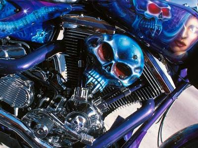 Custom motorcycle wallpapers