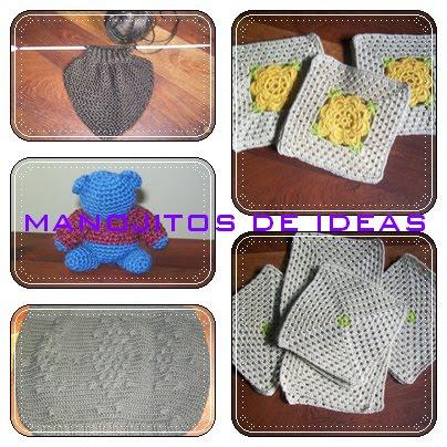 Como hacer carpetas en crochet redondas