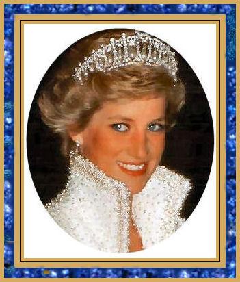 princess diana wedding tiara. princess diana wedding photos.