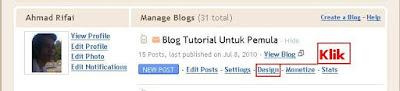 Panduan Cara Menghias Blog