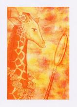 'Giorgiana' Giraffe Card