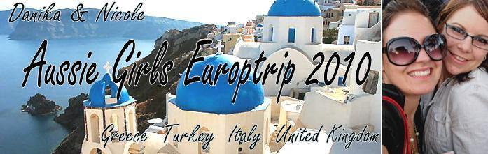 Aussie Eurotrip 2010