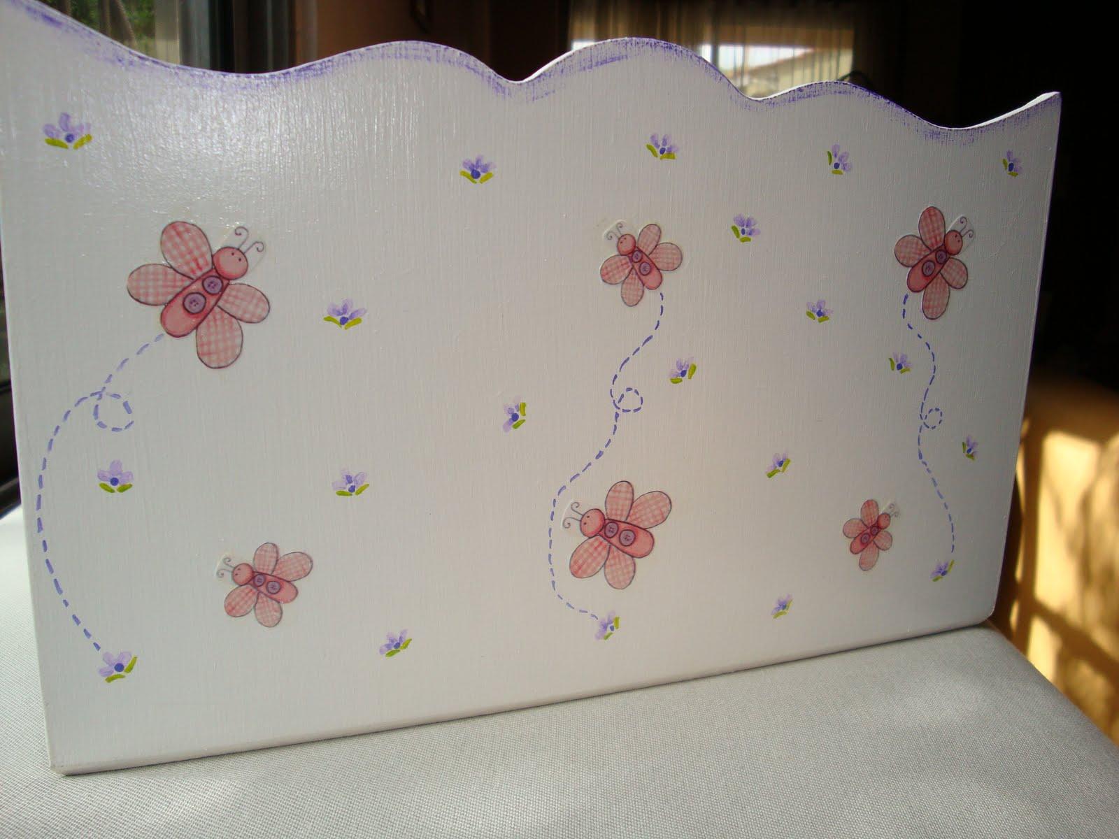 Nayara regalos artesanales portacosmeticos para bebes - Cajas decoradas a mano ...