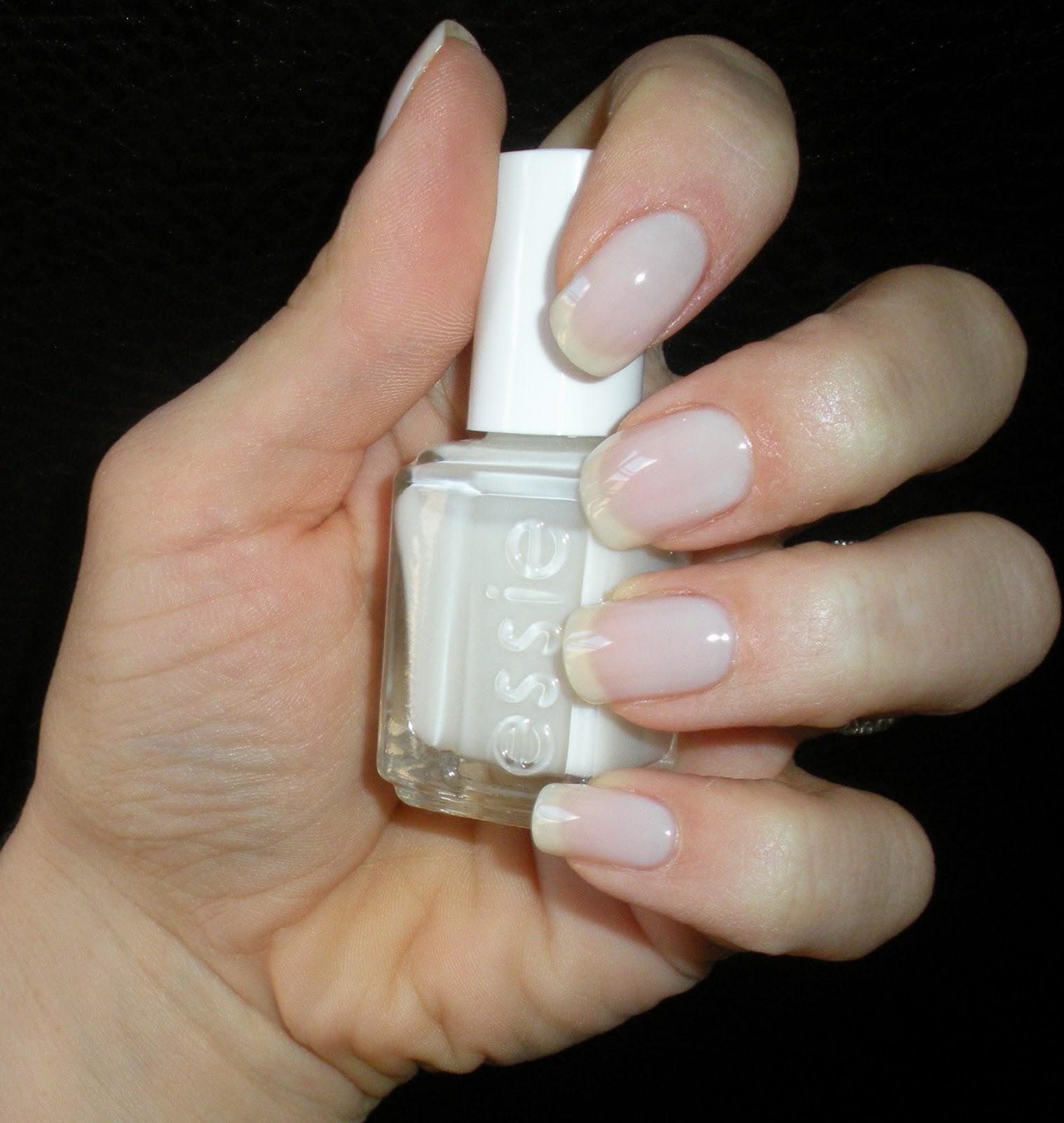 essie  Waltz  Clean Crisp Creamy White Nail Polish