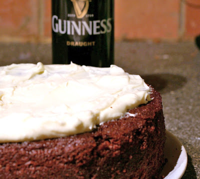 Chocolate Guinness cake for St. Patricks day