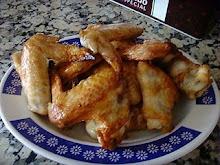 Alitas al horno con salsa de soja