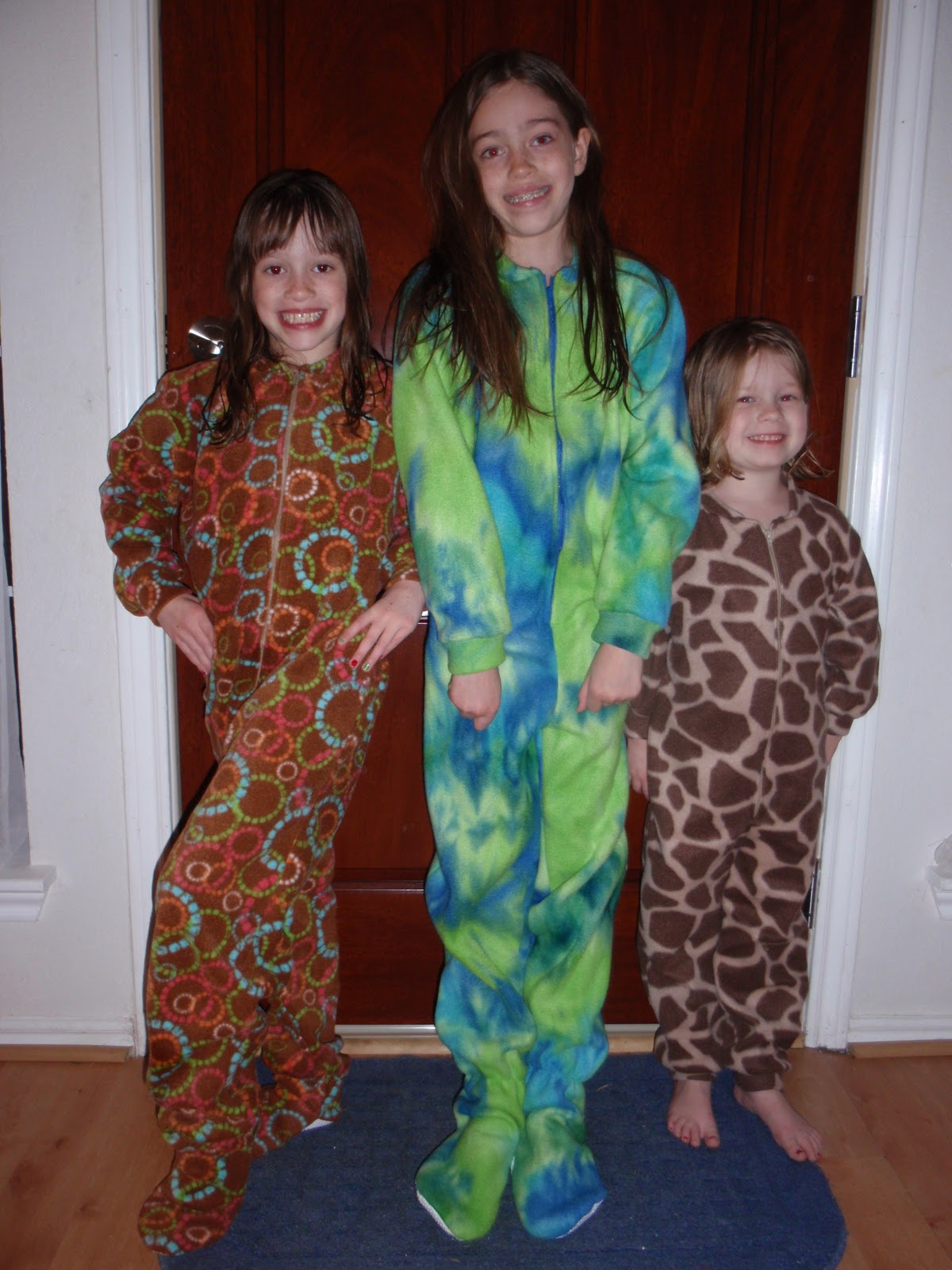 Footed Pjs For Girls Footed Pjs The Girls Got to
