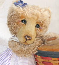 My first sewn bear Sadie