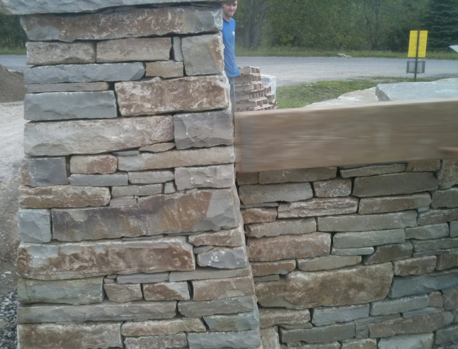 Dry Stone Pillar : Thinking with my hands don t knock it until you ve tried